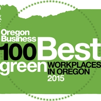 Green Hammer Among Oregon's 2015 Best Green Companies to Work For