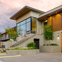 Sustainability and Aesthetics Meet in Fineline Custom Home